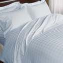 Printed White Bed Sheets