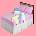 Single Jersey Fitted BedSheets